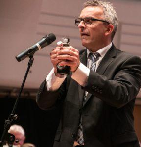 Dirigent John Frederiksen.