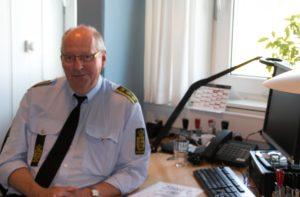 Knud Kirsten, leder af det lokale politi.