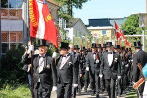 Trægeværerne kom til, da den tyske besættelsesmagt afvæbnede foreningen under Anden Verdenskrig.