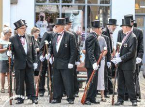 Kongeskydningen er årets store festdag i Borgerforeningen.