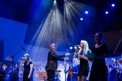 Her ses Haugaard med folkBALTICA Ensemblet i Alsion i fjor. Foto: Patricio Soto