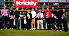 Vinderne i Kvicklys påsketurnering. Foto: Nordals Golfklub. <div class=