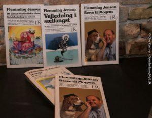 Flemming Jensen sopænder vbidt i sit forfatterskab.
