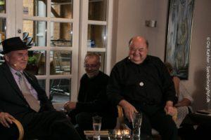 En fantastisk Bogcafé med Allan Breckling og Flemming Jensen.