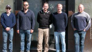 Martin Hugger Larsen og Henrik Danekilde er gået sammen med folkene bag Heidi's Bierbar.