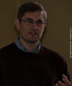 Carsten Porskrogh Rasmussen gjorde sin fortælling om hertugerne virkeligt underholdende.
