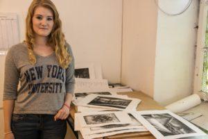 Sara Kristine Brodersen har sat tryk på sine drømme.
