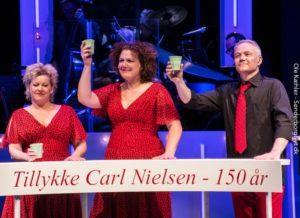 Det fantastiske nummer, der hylder Carl Nielsen, skal der heldigvis ikke redigeres i. <div class=
