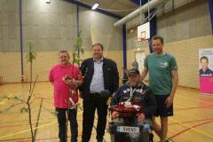 Fra venstre: Palle Petersen, Dan Arnløv Jørgensen, Svend Schütt, Stephan Kleinschmidt