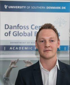 Sam Poulter løftede lidt af sløret for sit arbejde med at gøre Danfoss endnu mere kendt.