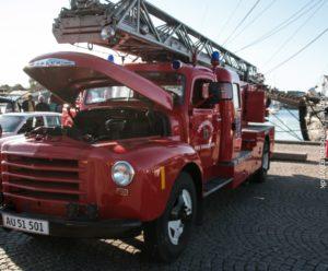 Brandmændene kan også rulle ud i ældre modeller. Man skal nok bare ringe i god tid.