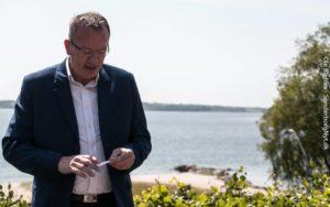 Jan Riber fra byrådet i Aabenraa.