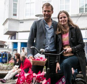 Stephan Kleinschmidt og Ellen Trane Nørby vil gavne hele Sønderjylland.