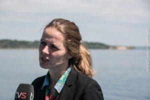 Det har aldrig været meningen, at staten skal betale for en bro, siger Ellen Trane Nørby.