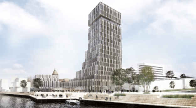 Bitten og Mads Clausen Fond og PFA Pension investerer 600 mio. kroner og i hotelbyggeri på havnefronten