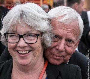 Johnna og Leif Maibom Foto: Ole Kæhler