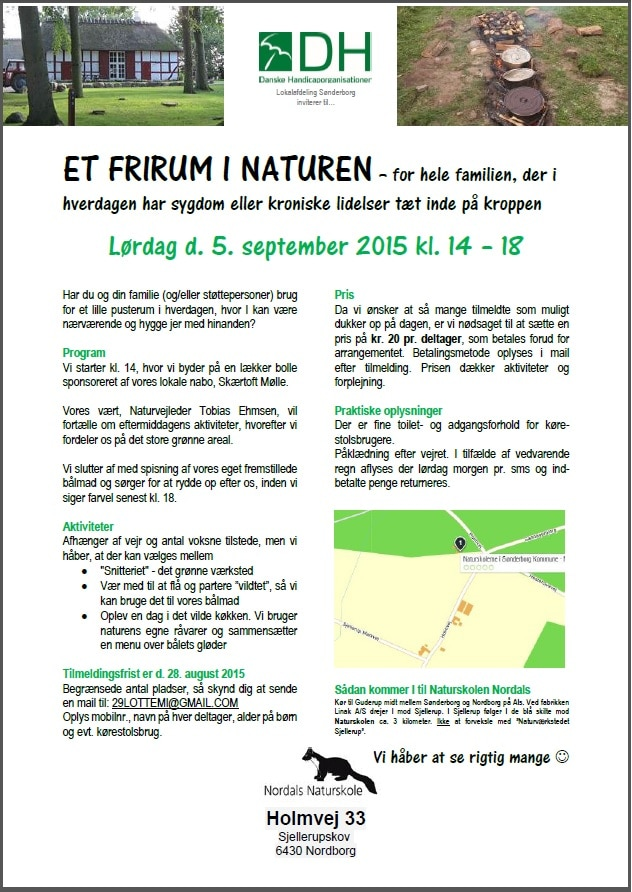 Et Frirum i Naturen Invitation