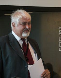 Henrik Brøndum fortæller, hvordan Jubilæumsfonden finder dem, der skal have støtte.