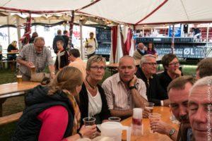 Tidligere serniorsergent Leif Larsen vil mødes med sine tidligere kolleger ved Ringriderfesten år efter år.