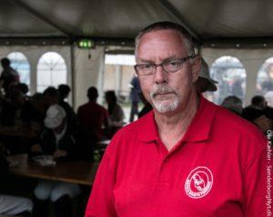 Herman Johannsen er en af rigtigt mange frivillige ved Ringriderfesten