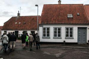 Sønderborgs første langhuse.