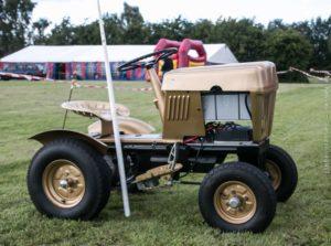 Ford Havetraktor fra 65 bygget om til el.