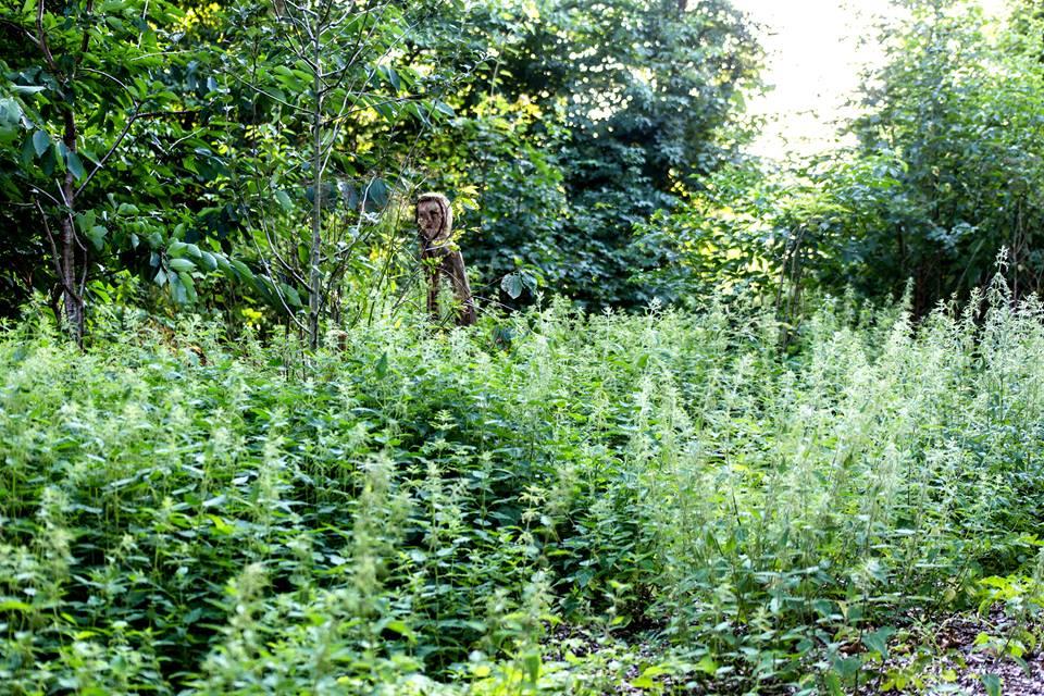 Mange planter og lidt legeplads. Foto: Svend-Erik Boysen
