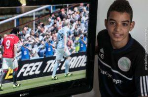 Fifa er super og man kan sidde hjemme og spille alle mulige andre online, siger Amit Ghedir