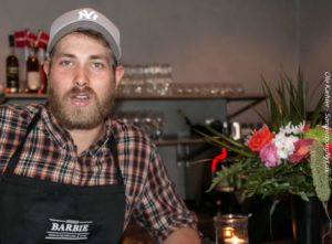 Christian Brandt fortæller, Restaurant Barbie betyder ti ansatte fra Sønderborg. <div class=