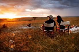 Muligheden for at sidde og kigge ud over savannen er en flot præmie.