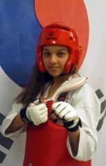 Jasmin - et medaljehåb i Taekwondo.
