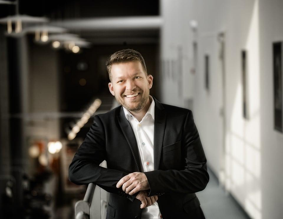 """Marck Thorning, Fiqtiv ApS: """" Et stærkt og særligt fokus på at de højtuddannede, velkvalificerede og engagerede Sønderborgensere bliver i Sønderborg er, efter vores mening, ligeså vigtigt som at tiltrække nye kompetencer til Sønderborg. """""""