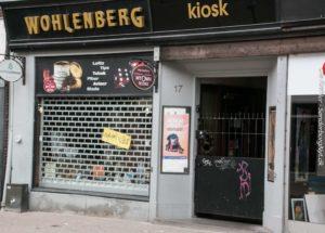 Butikker, som vi ikke handler i, drejer nøglen. Nu er turen kommet til Wohlenbergs Kiosk.