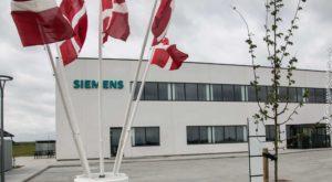 Den nye bygning, som huser Siemens. Foto: Ole Kæhler