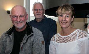 Fra vnestre: Kaj Henry Nielsen, Bendt Olesen og Birgitte Norman Houe. Foto: Ole Kæhler