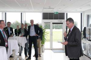 Borgmester Erik Lauritzen fortæller om kommunens hurtige indsats for Siemens A/S