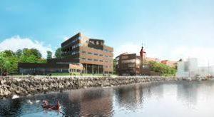 Telebilling bor med smuk udsigt ud over Alssund.