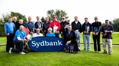 Lørdagens vindere. Foto: Nordborg Golfklub