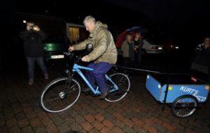 Cykel-Kurt er kørende igen.