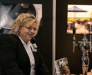 Restaurantchef Mette Pedersen fortæller om selskaber på Hotel Comwell.