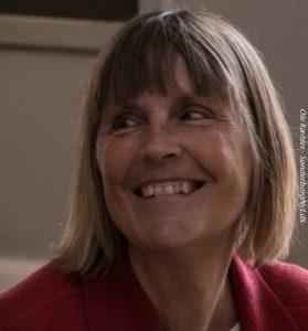 Linda Lassen blev inviteret med i Bogcafé af Allan Breckling.