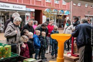 Masser af gæster besøgte Æblefestivallen på Gråsten Torv.