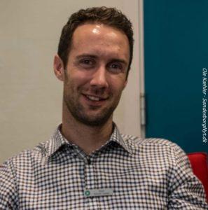 René Nyholm Lassen fortæller, at Jyske Bank i Sønderborg har lånt 300 millioner kroner ud til boligkøbere. <div class=