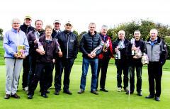 Cross Country-vinderne. Foto;: Nordborg Golfklub