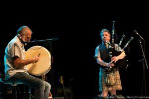 Green Forest Pipe Band optrådte sidste år til Heartland Festivallen