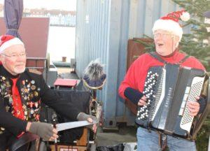 Leif og Leif sørger for musikken.