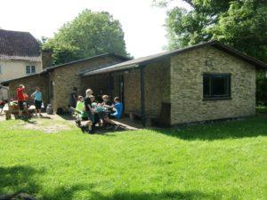 Augustenborgspejderne har fået pnege til at modernisere hytten for. Foto: Augustenborgspejderne.