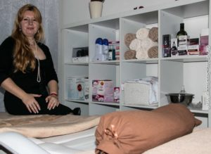 Camelia Nuncui i sin nyåbnede forretning.