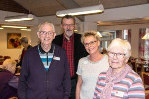 Jens Gunnersø, Finn Christensen, Dorthe L. D. Kristensen og Else Egholm.