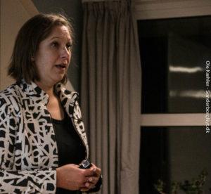 Trine Lindén deler ud af sin store vinden indenfor kommunikation. <div class=